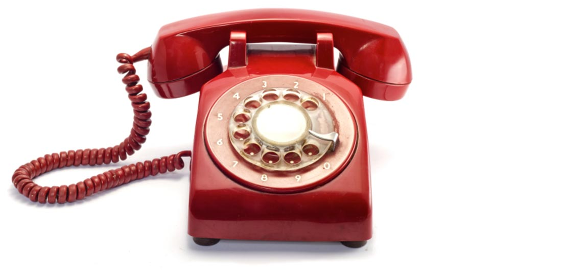 Charity fundraising events rotary phone