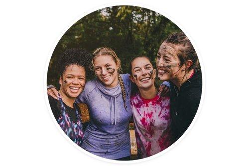 Echoleft teams medium group smiling taking selfie
